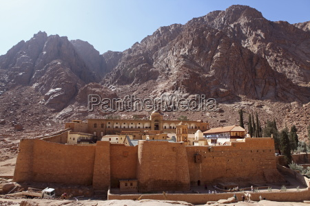 the worlds oldest christian monastery stands