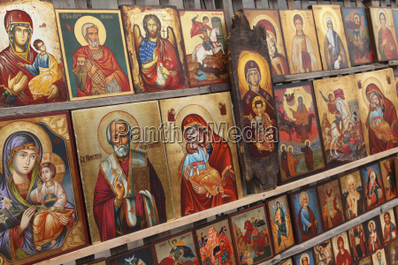 greek orthodox icons offered for sale
