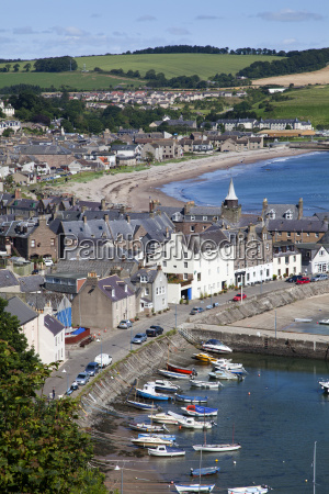 stonehaven harbour from harbour view stonehaven