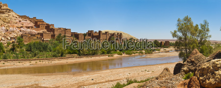 kasbah ait ben haddou and the