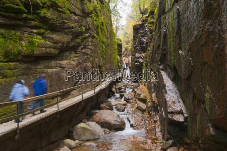 franconia notch state park new hampshire