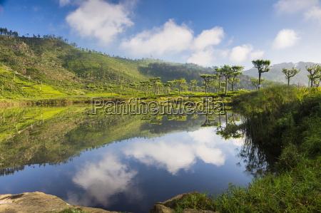 lake at haputale nuwara eliya district
