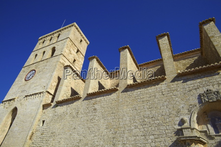 cathedral dalt vila ibiza old town