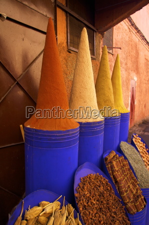 spice shop marrakech morocco north africa