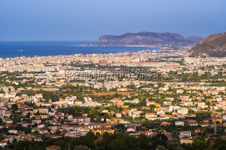 cityscape of palermo palermu and the