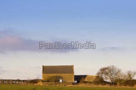 derelict barn oxfordshire united kingdom