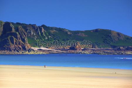 beach at st brelades bay jersey