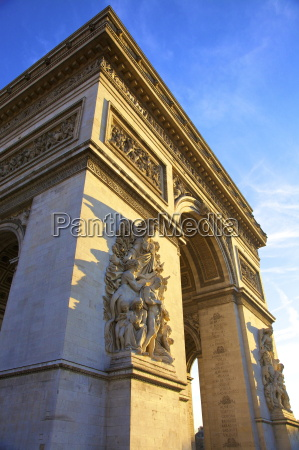 arc de triomphe paris france europe
