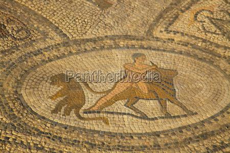 excavated roman city volubilis unesco world
