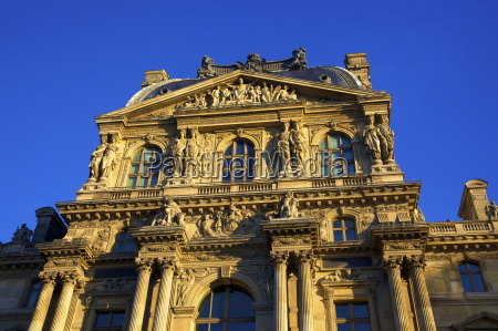 the louvre palace richelieu wing paris