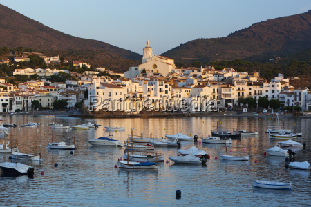 harbour and town cadaques costa brava