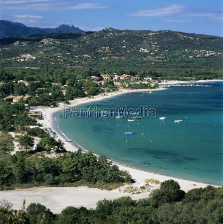 san ciprianu beach near porto vecchio