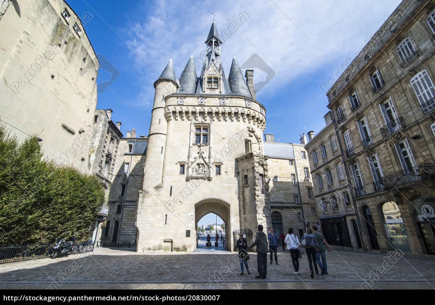 porte, cailhau, historic, entrance, gate, to - 20830007