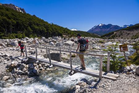 el chalten hiking to laguna de