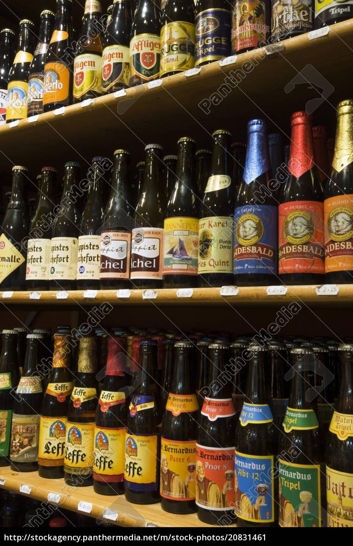 belgische, biere, brügge, west, vlaanderen, (flandern), belgien, europa - 20831461