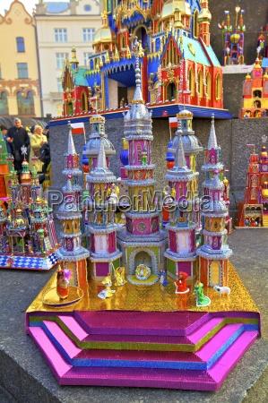 traditional christmas crib festival krakow cracow