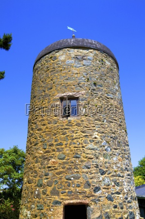 historic tower sark channel islands united