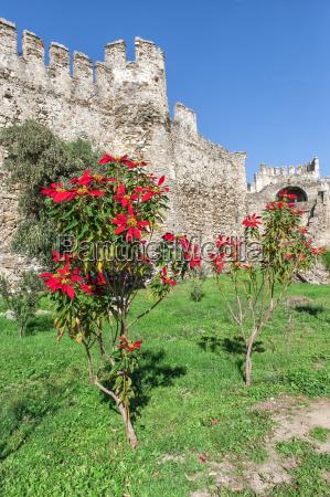 mamure castle anamur anatolia southwest turkey