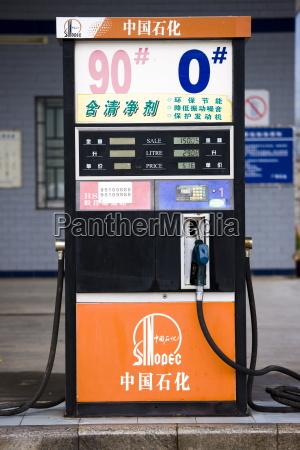 benzinpumpe die kraftstoffpreise an der tankstelle
