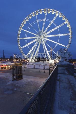 big wheel at place de la