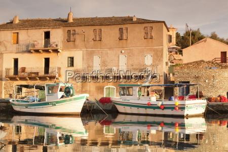 fishing boat centuri port corsica france