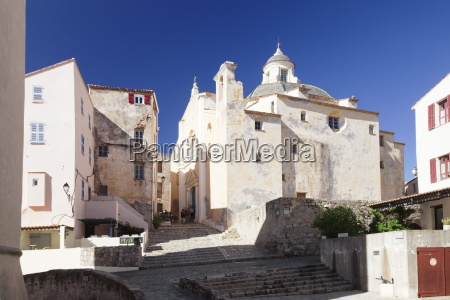 old town of calvi with the