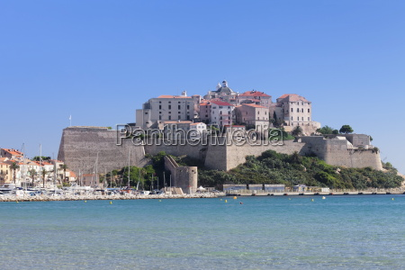 citadel calvi balagne corsica france mediterranean