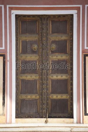 door to the harem zenana deorhi