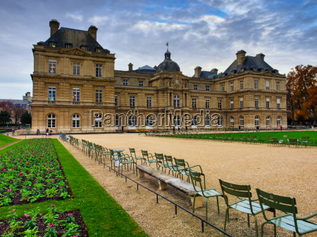 jardin du luxembourg paris france europe