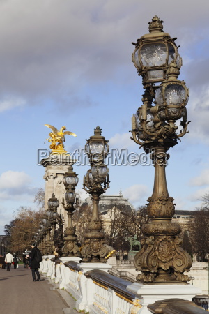 pont alexandre bridge paris ile de