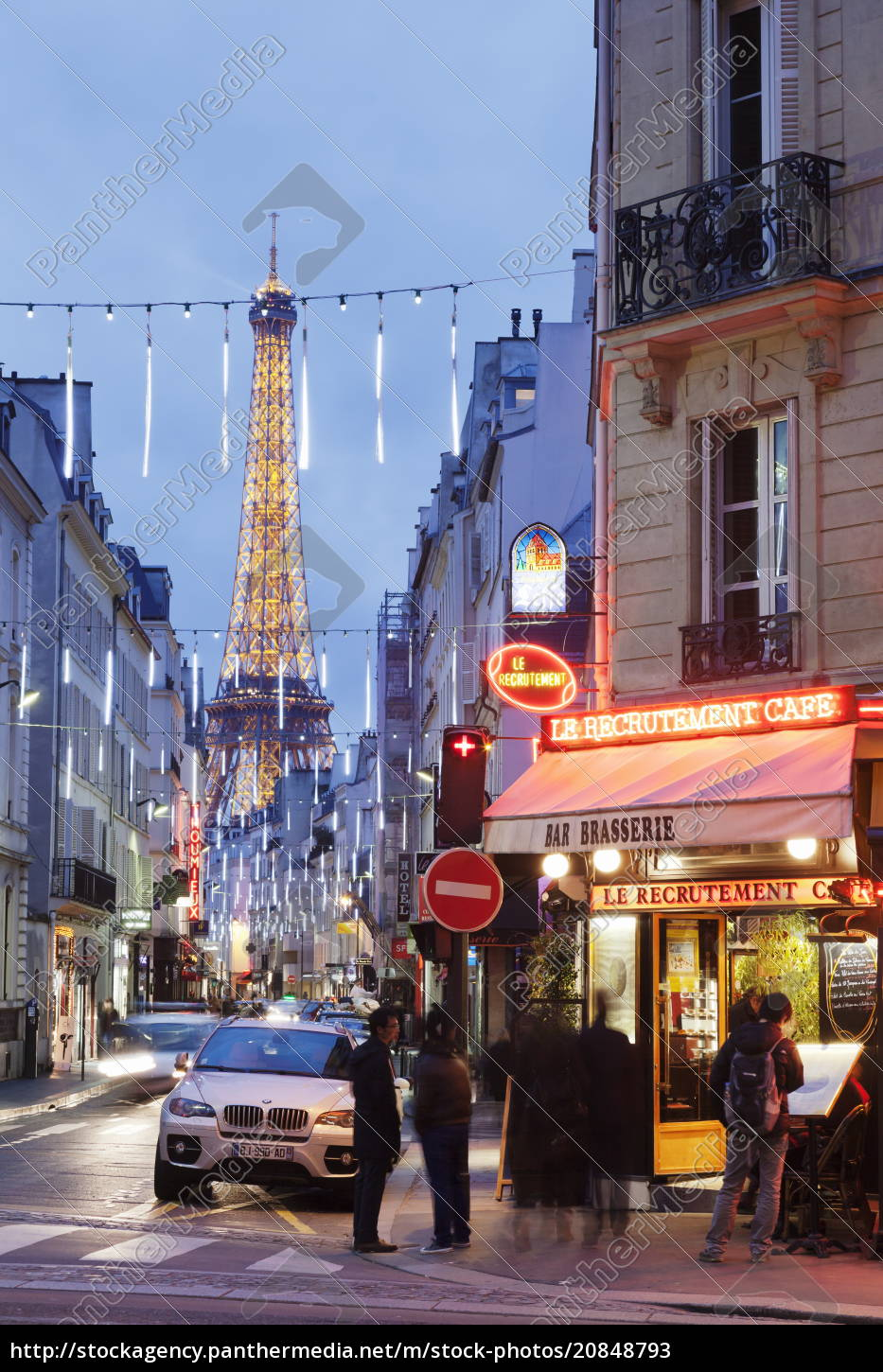 cafe, and, brasserie, and, eiffel, tower - 20848793