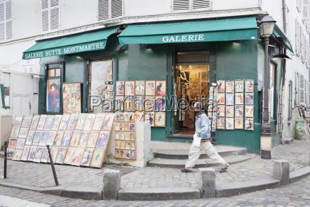 galerie, butte, montmartre, montmartre, paris, ile, de, france, frankreich, europa - 20848931
