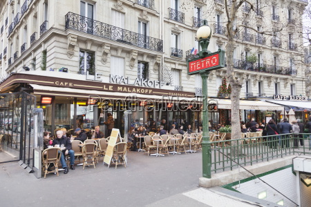 art nouveau entrance to the metro