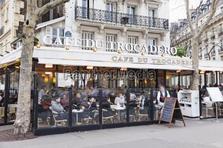 cafe du trocadero trocadero paris ile
