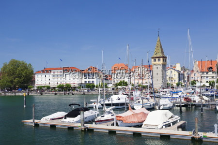 seafront of the old town with