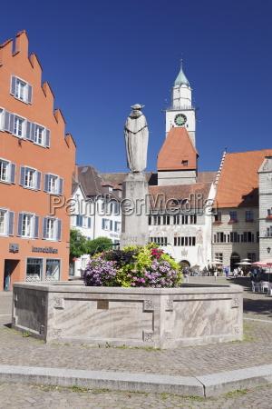hofstatt with town hall st nikolaus
