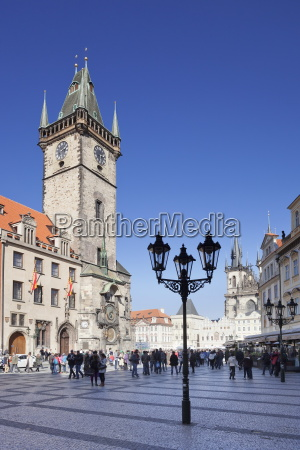 old town hall and tyn cathedral