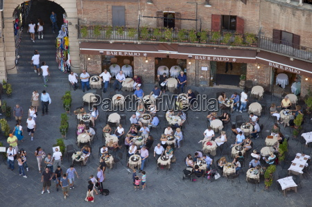 aerial view from il torre clock