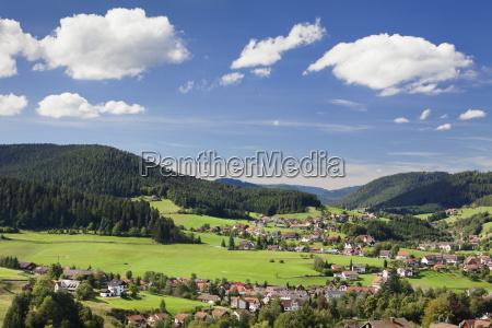 baiersbronn black forest baden wurttemberg germany