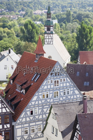 old town waiblingen rems murr district