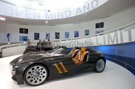 bmw konzept sportwagen im bmw museum