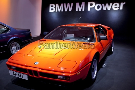 bmw m1 sportwagen im bmw museum