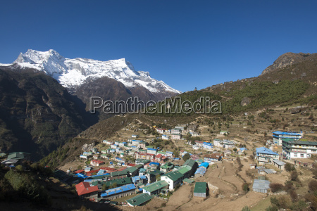 namche the main trading centre and