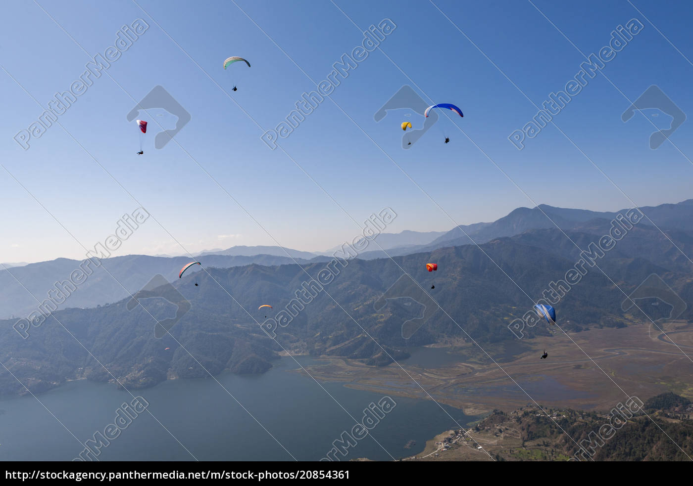 dozens, of, paragliders, enjoy, amazing, views - 20854361