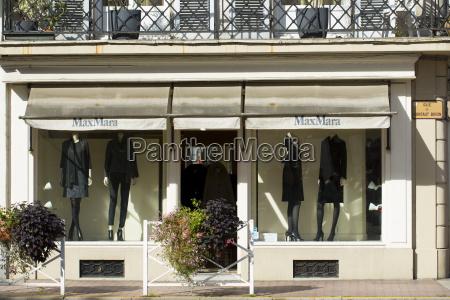 max mara fashion boutique shop in