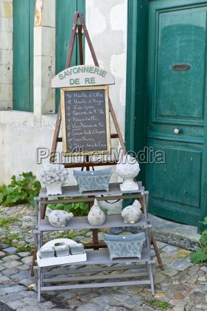 savonnerie de re souvenir shop at