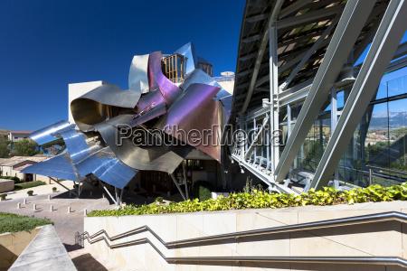 hotel marques de riscal futuristic curved
