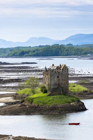 stalker castle on loch linnhe 14th