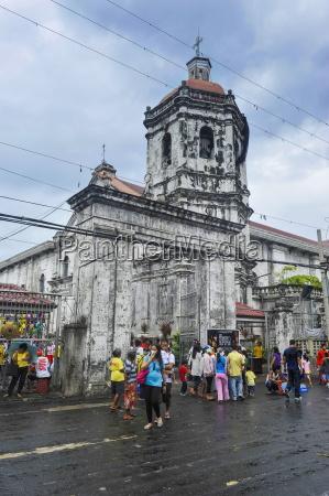 easter procession in the basilica de