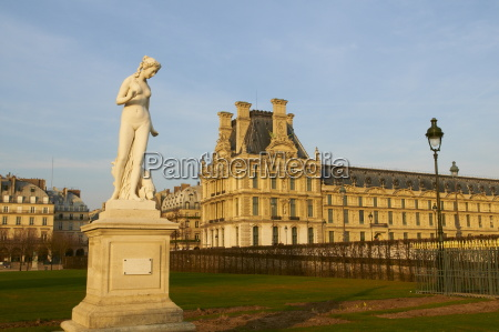 fahrt reisen garten statue europa horizontal